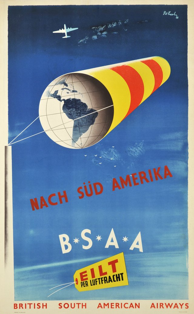 BSAA, British South American Airways nach Süd Amerika