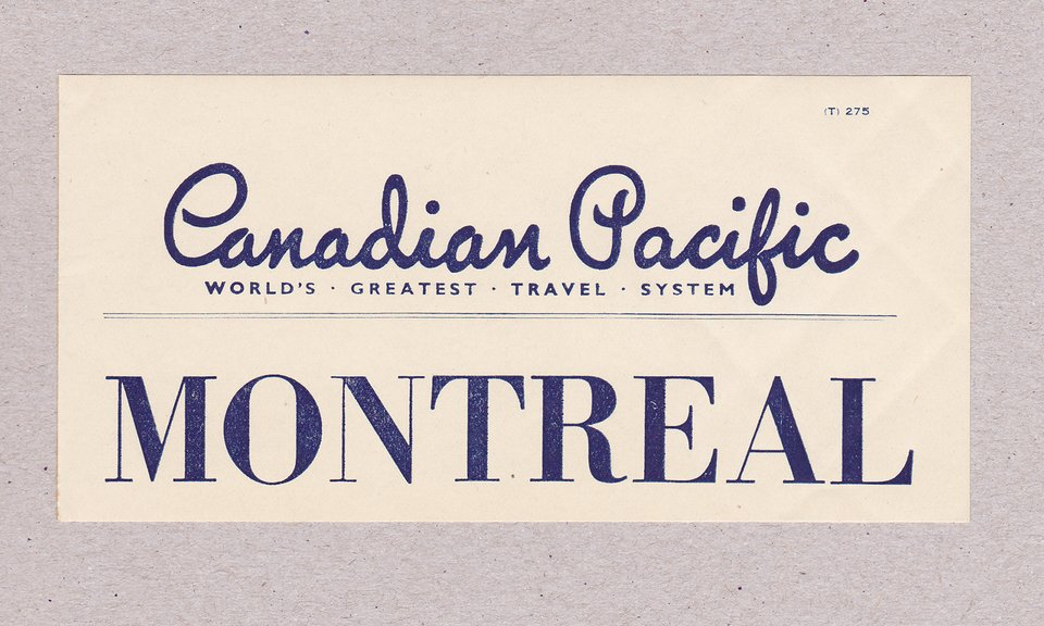 Canadian Pacific – Vintage poster – ANONYME – 1930