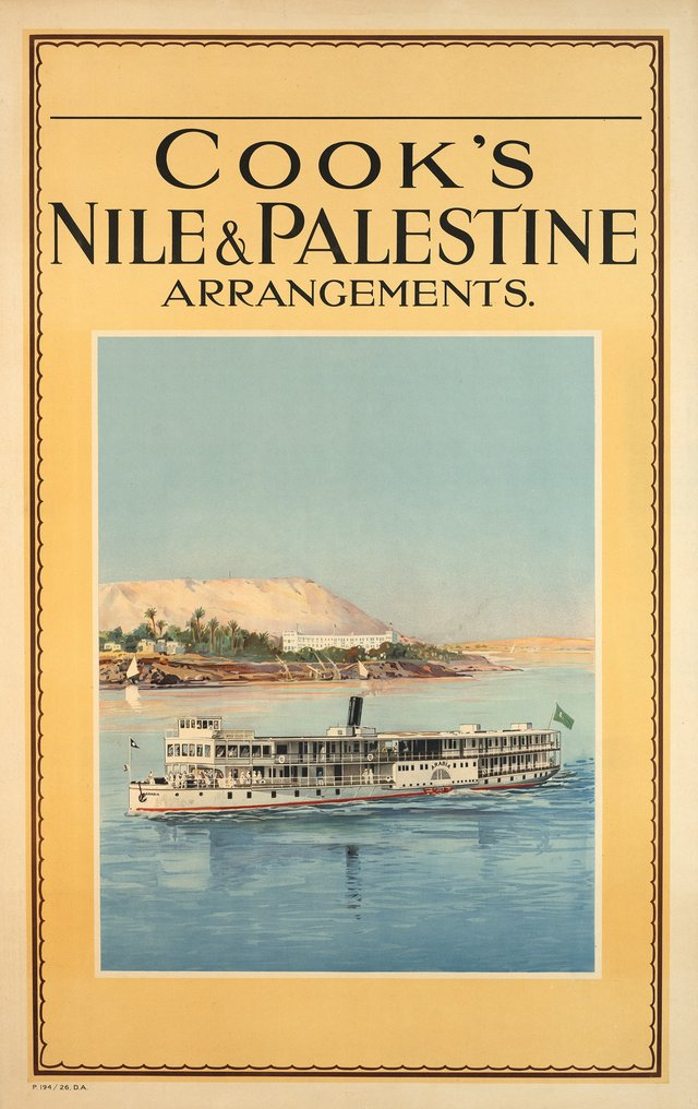 Cook's Nile & Palestine arrangements