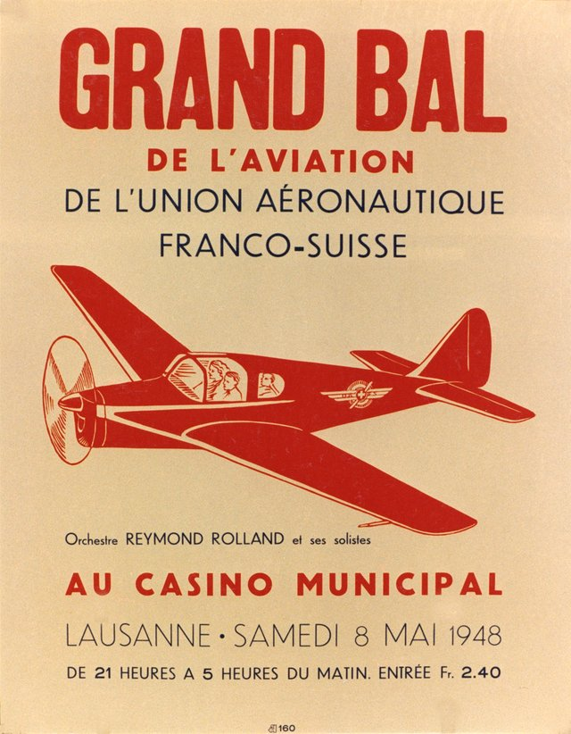 Grand Bal de l'Aviation, Lausanne