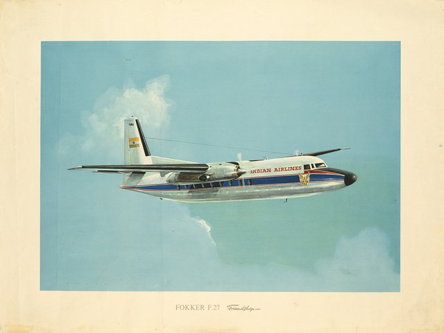 Indian Airlines, Fokker F.27 Friendship