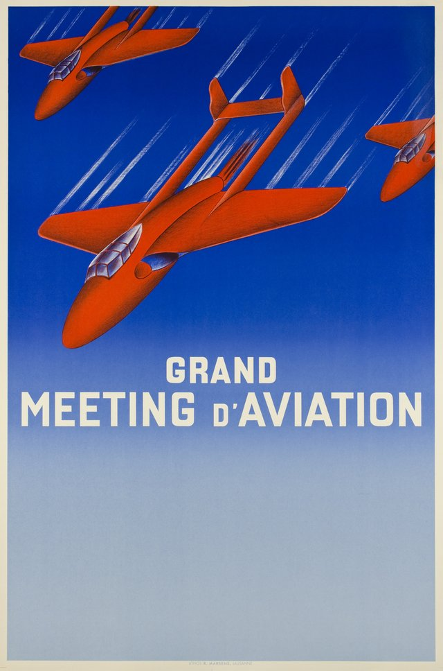 Lausanne, Grand Meeting d'Aviation