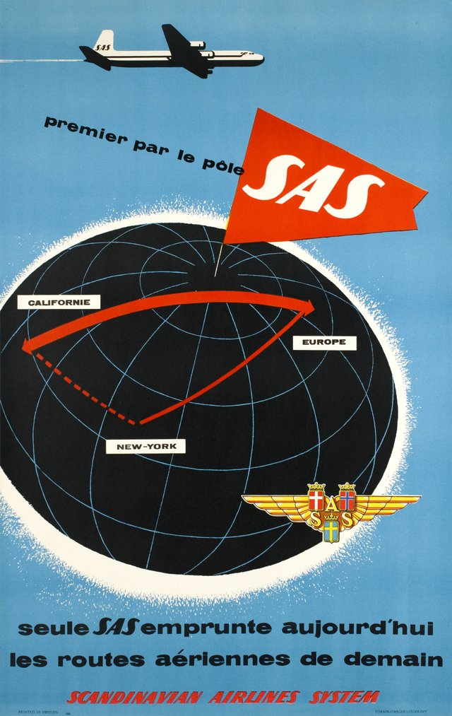 SAS - Californie-New York-Europe, Premier pas le pôle S.A.S.