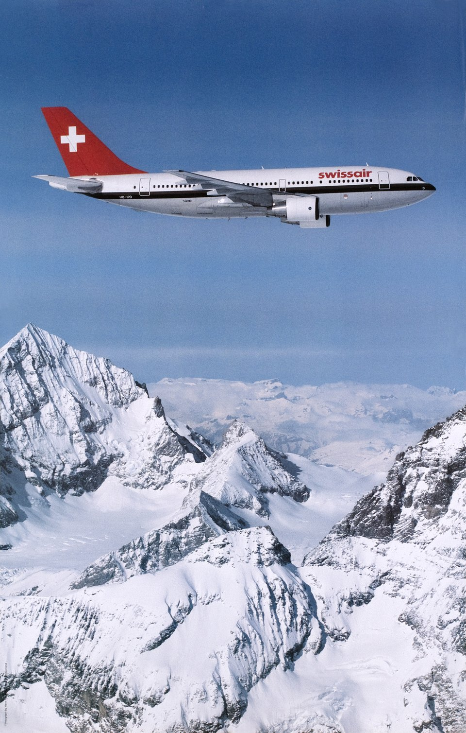 Vintage poster – Swissair, Airbus A310 – Galerie 1 2 3