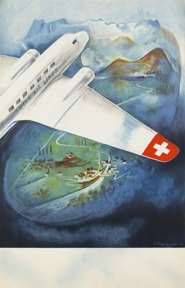 Swissair DC-2,  before letter