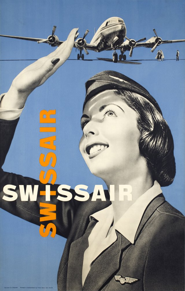 Swissair + Swissair DC-6