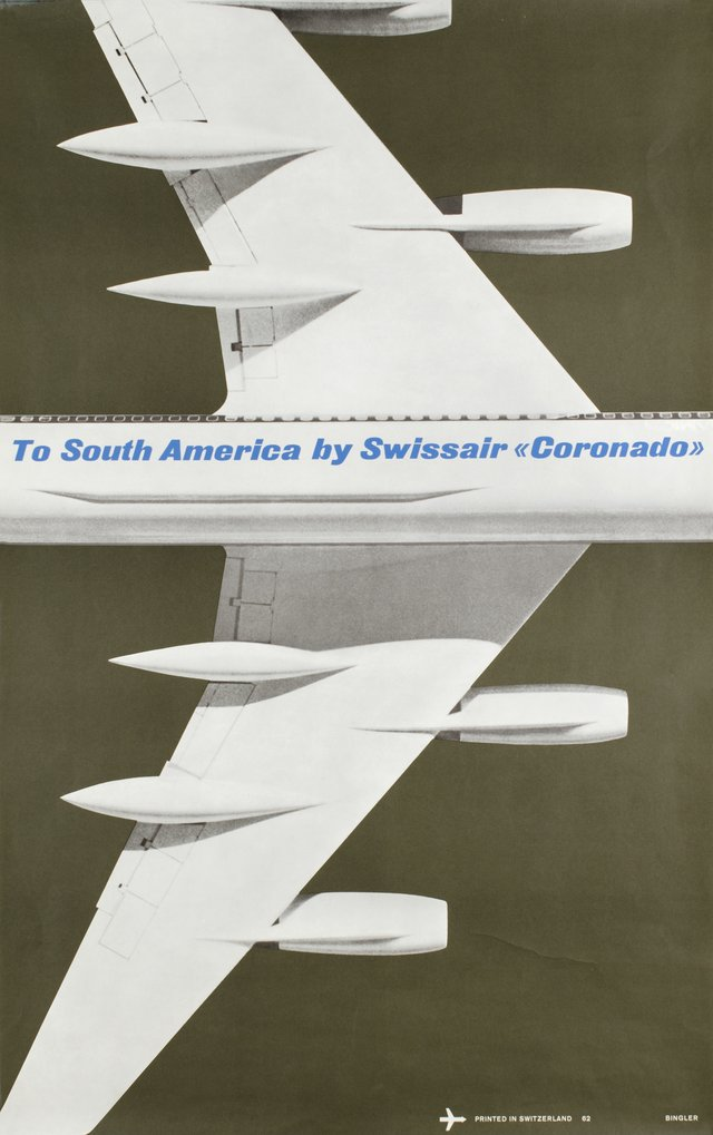 "Swissair, to South America by ""Coronado"" 990"
