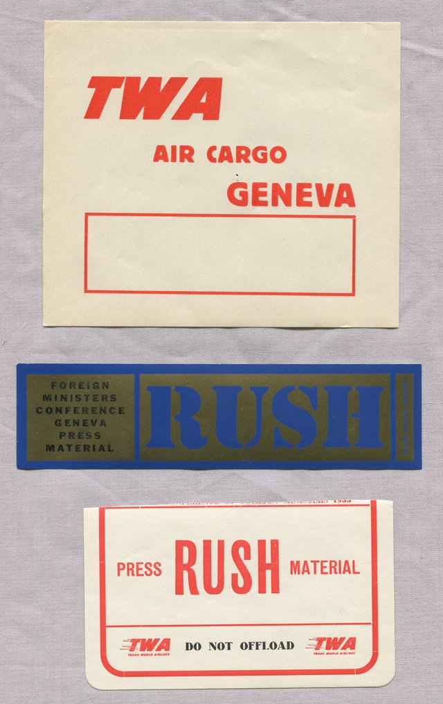3 TWA Labels