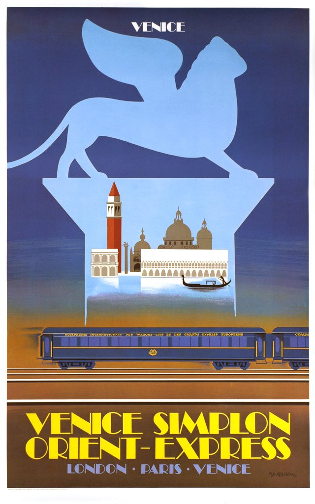 Venice Simplon Orient Express, London Paris Venice