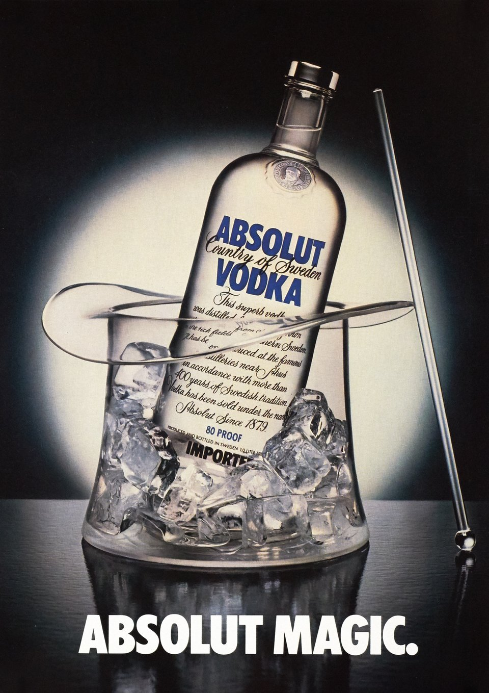 Absolut Magic – Vintage poster – TBWA – 1980