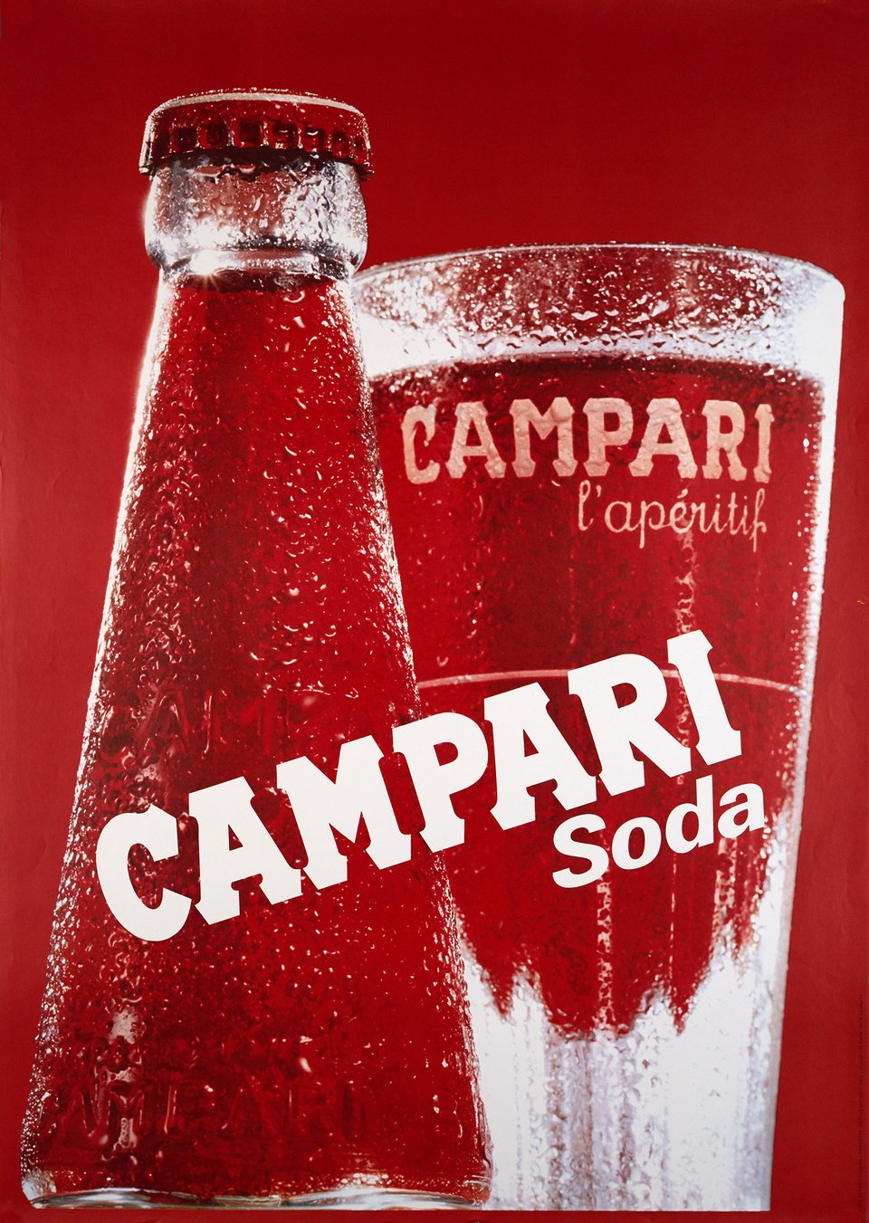 Campari Soda – Affiche ancienne – Sergio MICHELS,  PERRET – 1979