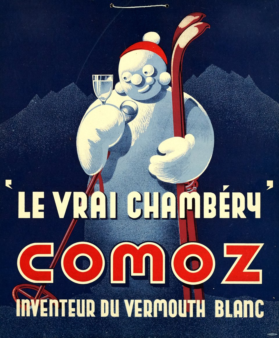 Le vrai Chambéry, Comoz – Vintage poster – A. MULCEY – 1930