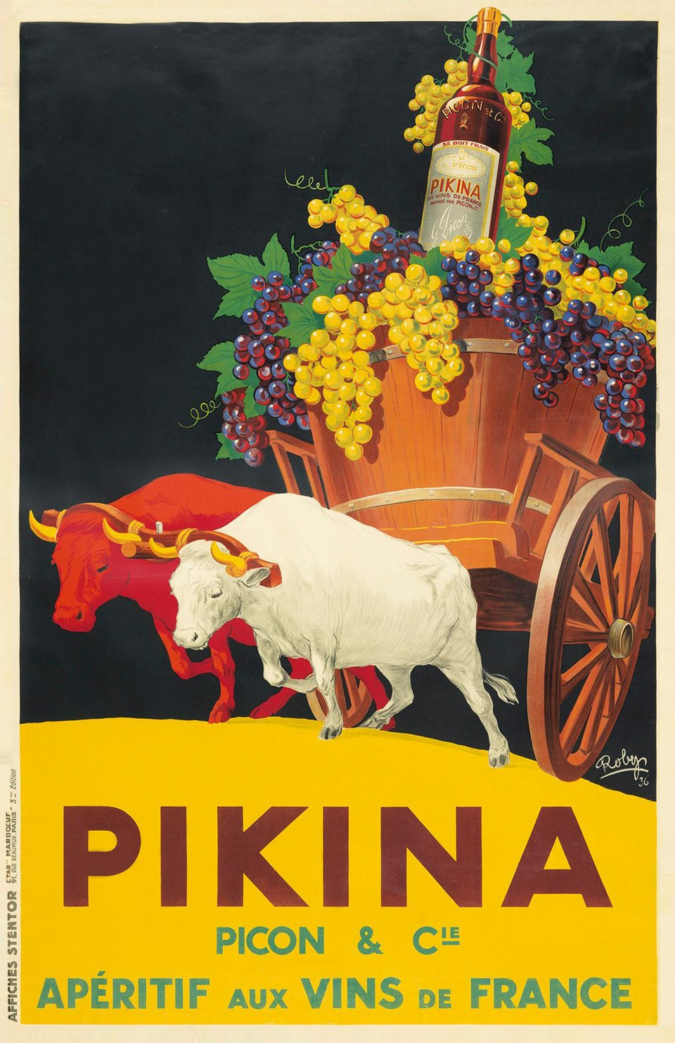 Pikina Picon – Vintage poster – ROBY'S – 1936