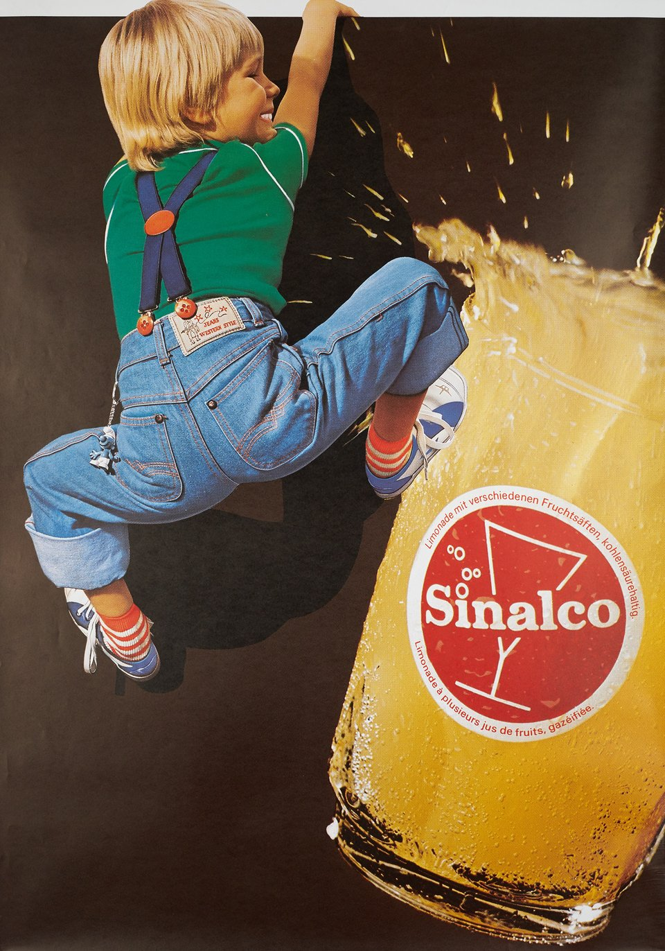 Sinalco – Vintage poster – ANONYME – 1985