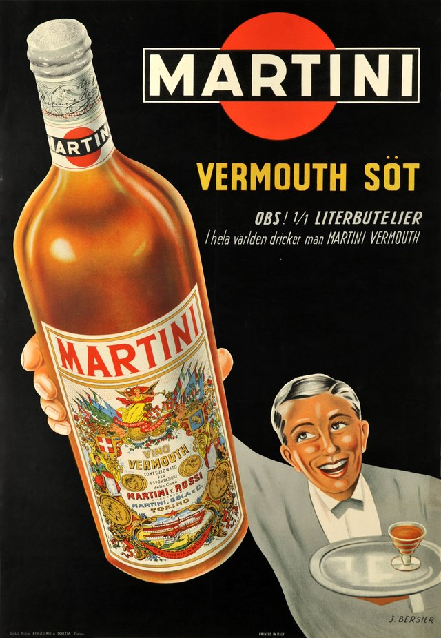 Vermouth Martini rouge