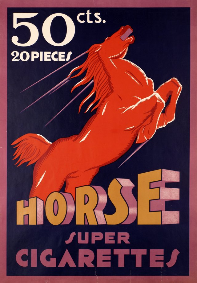 Horse super cigarettes
