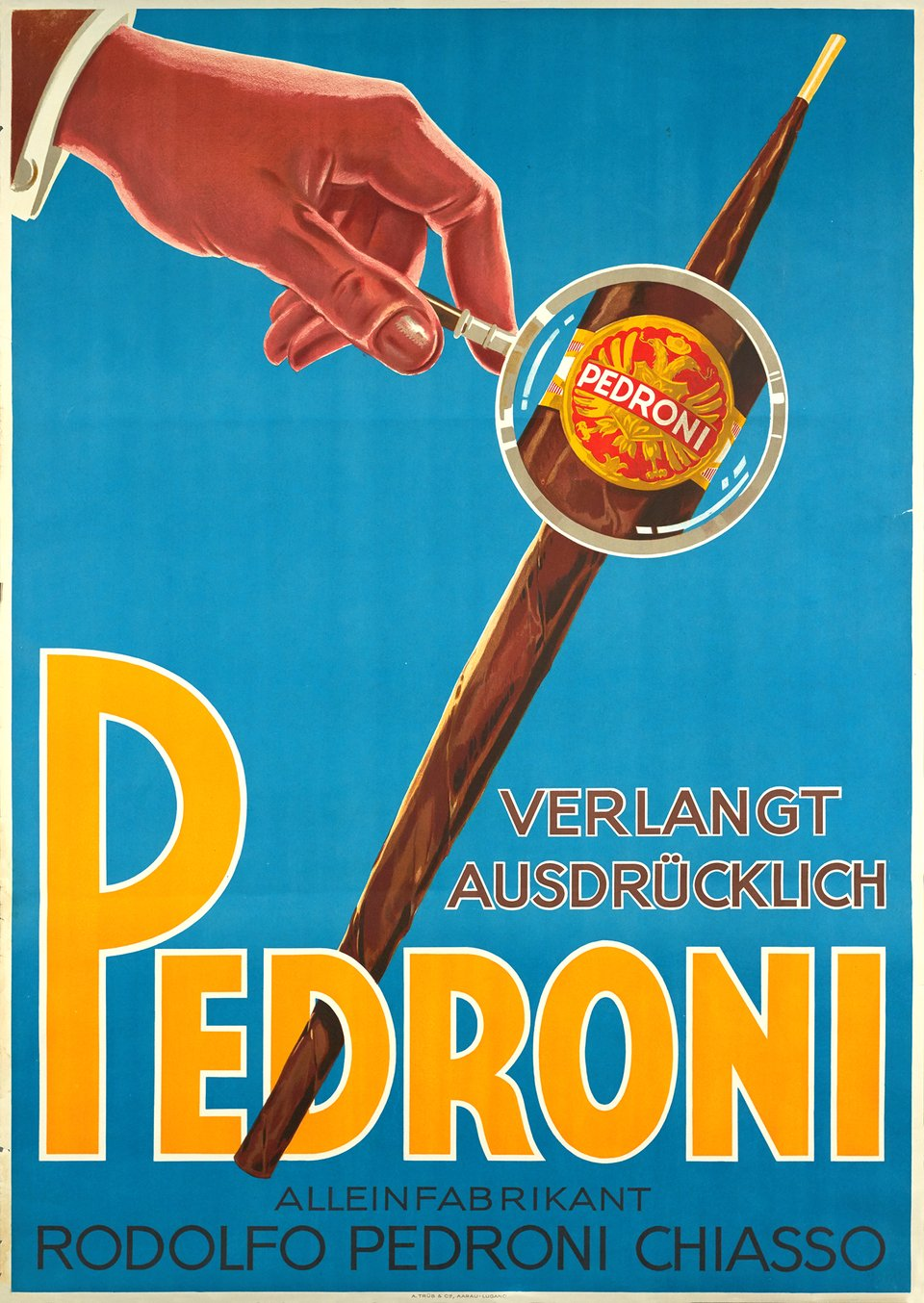 Pedroni – Vintage poster – ANONYME – 1935