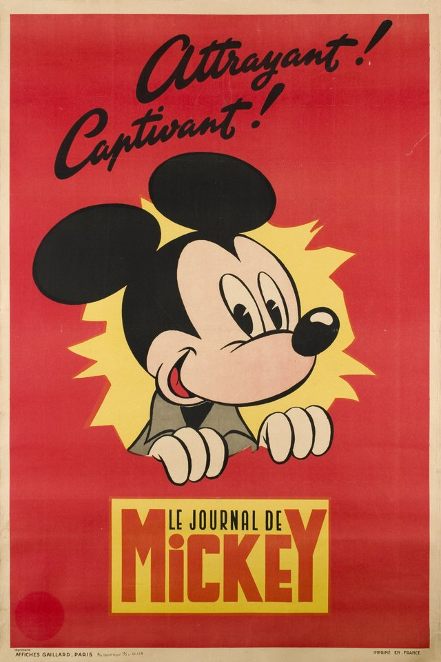 Attrayant! Captivant! Le journal de Mickey