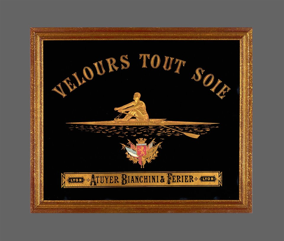 Atuyer Bianchini & Ferier, Velours tout Soie – Affiche ancienne – ATUYER BIANCHINI & FERIER – 1900