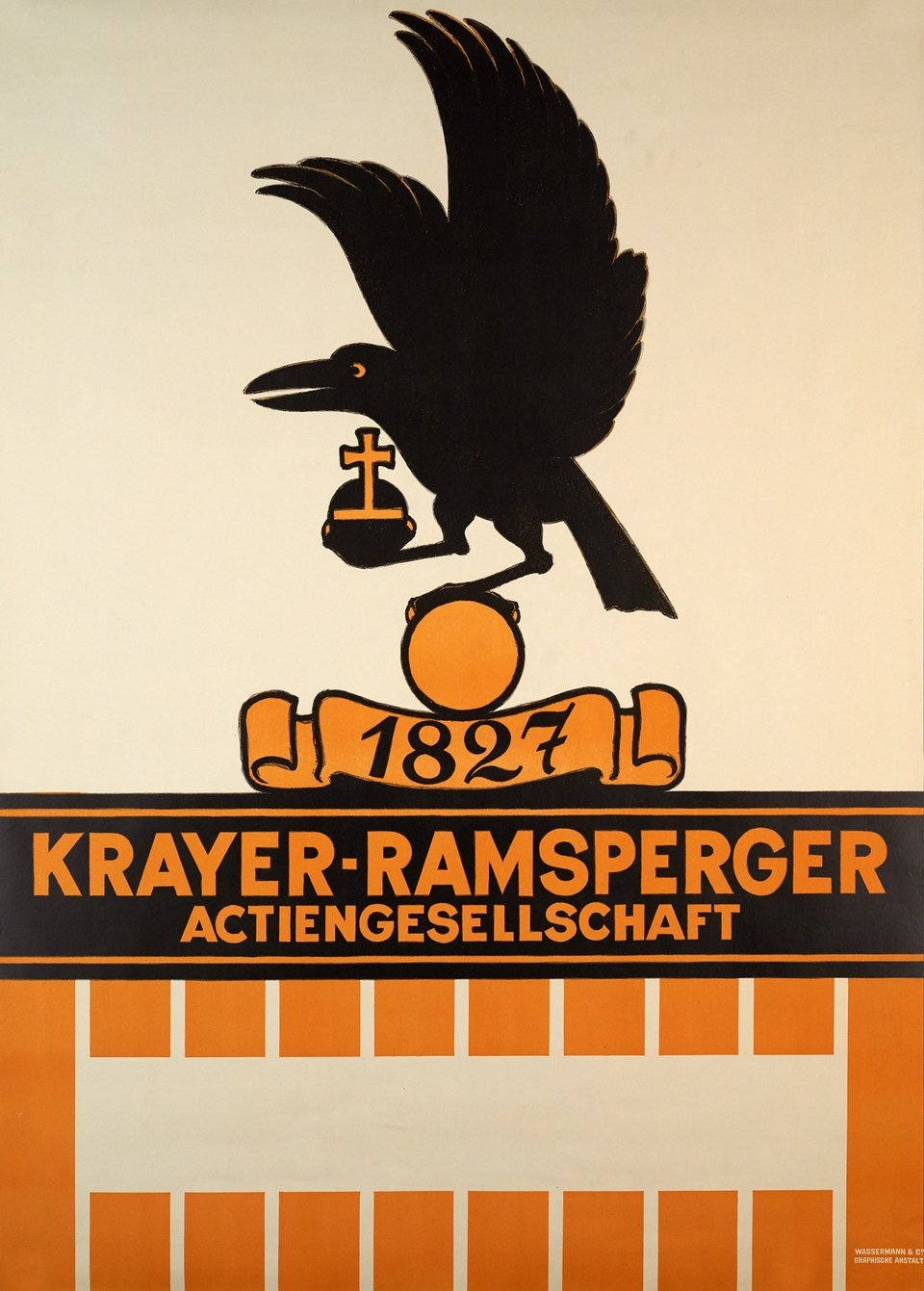 Krayer-Ramsperger Actiengesellschaft 1827 – Vintage poster –  ANONYME – 1928