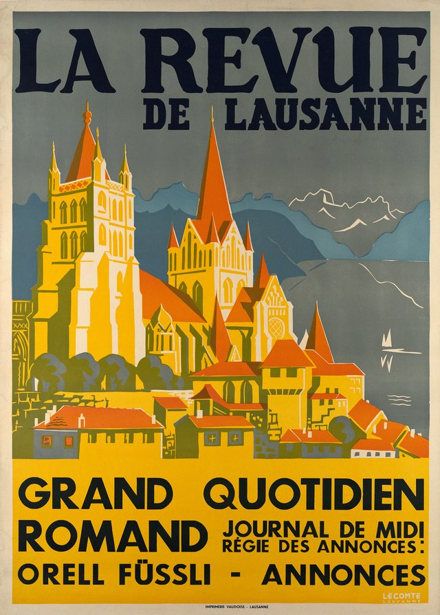 La Revue de Lausanne, Grand quotidien Romand, Journal de Midi