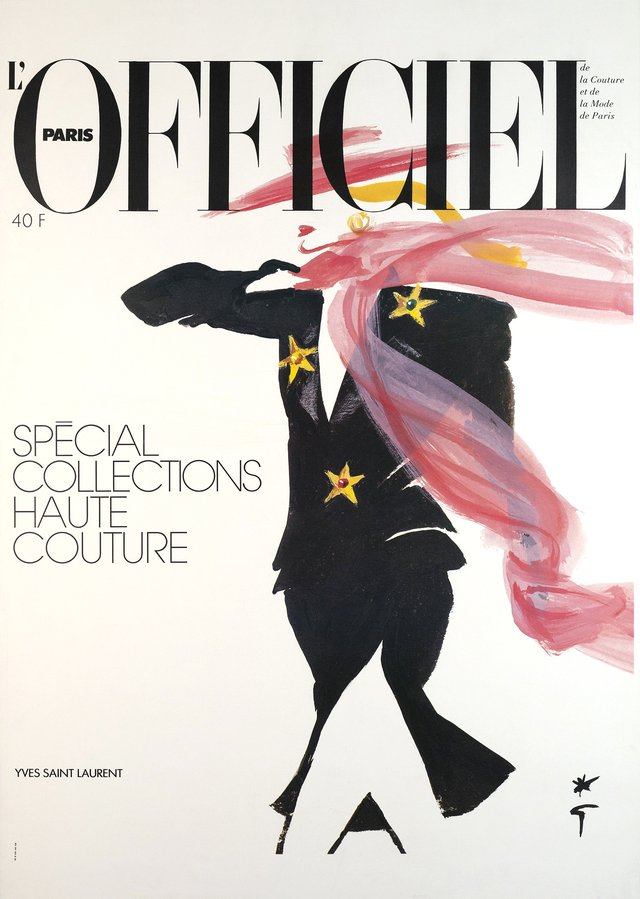 L'Officiel Paris, Spécial collections Haute Couture - Yves Saint Laurent