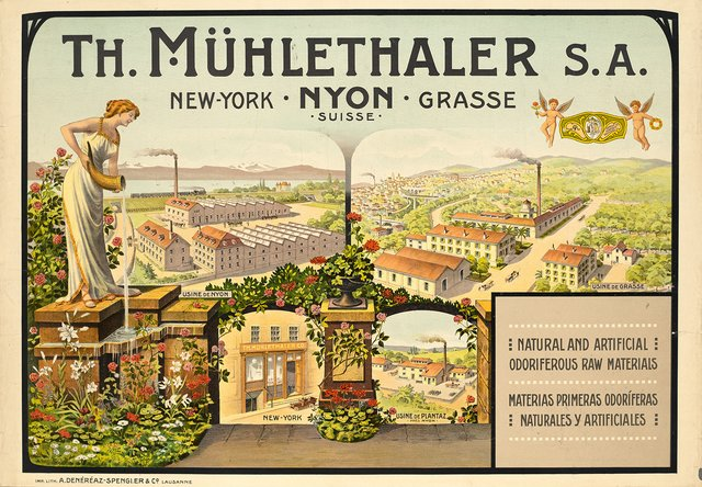 Th. Mühlethaler Nyon, New York, Grasse