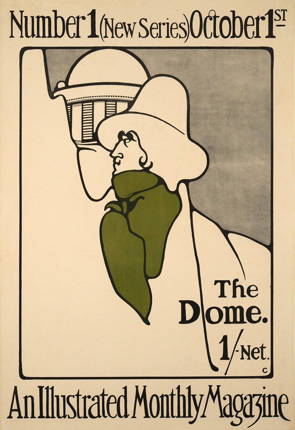 The Dome – Vintage poster – Gordon GRAIG – 1898