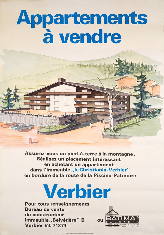 Verbier, Le Christiana, appartements à vendre