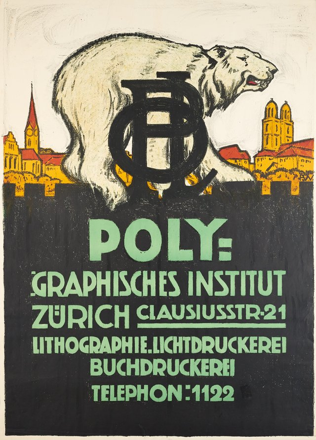 Zürich, Poly-Graphisches Institut