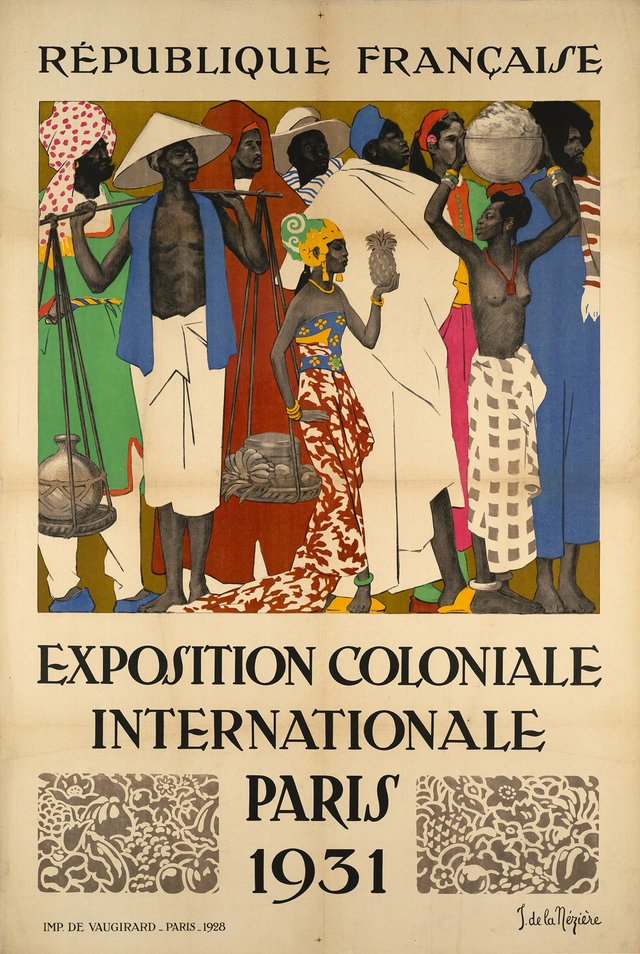 Exposition Coloniale Internationale Paris, République française