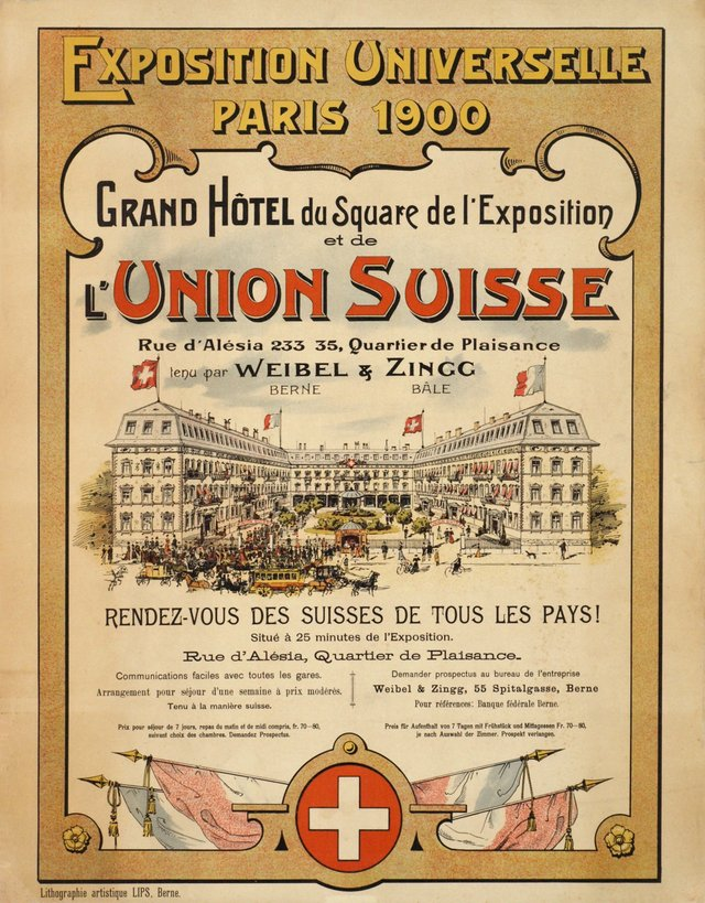 Grand Hôtel de du Square de l'Exposition Universelle