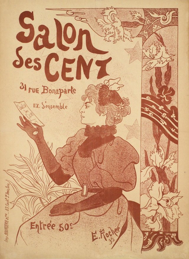 Salon des Cent, Paris
