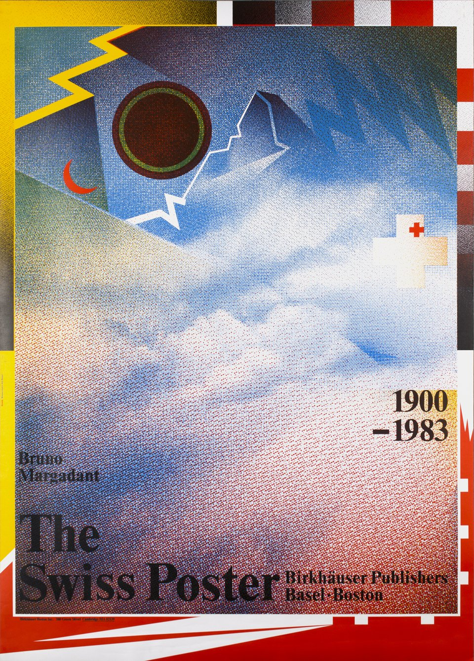 The Swiss Poster, Birkhäuser Publishers Basel - Boston – Vintage poster – Wolfgang WEINGART – 1983