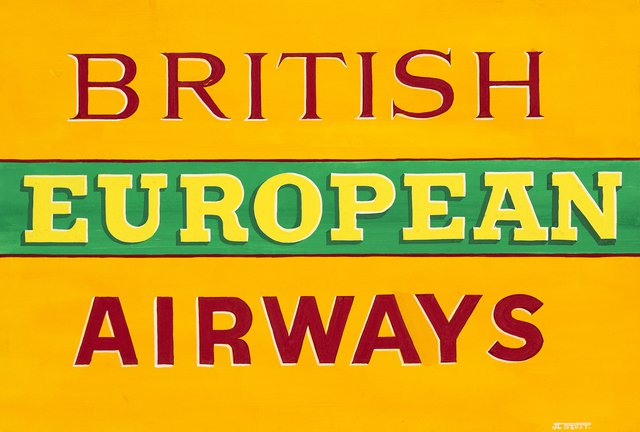Maquette British European Airways
