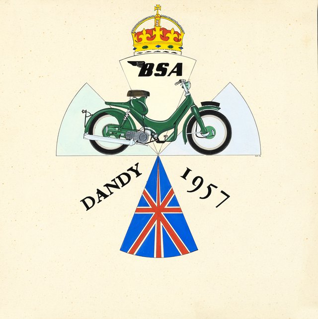 Maquette BSA Dandy