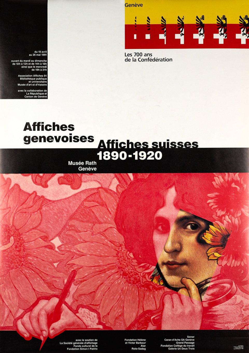 Affiches Genevoises, Affiches suisses 1890-1920 – Affiche ancienne – David DELLEPIANE, Roger & Sophie PFUND – 1991