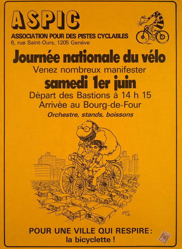 ASPIC, Journée nationale du vélo