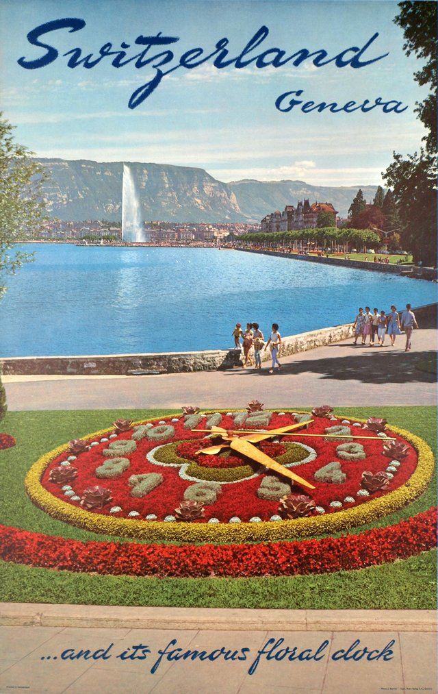 Geneva, Switzerland ...and its famous floral clock.