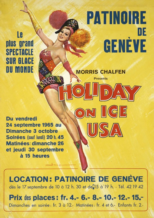 Genève, Holiday on ice, Patinoire de Genève.