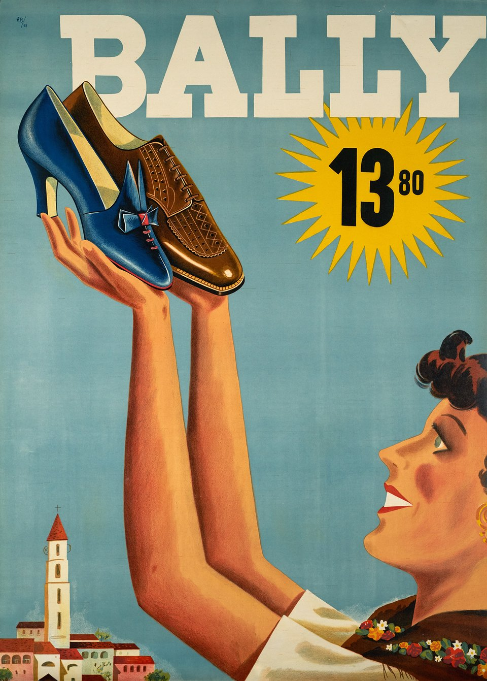 Bally – Vintage poster – Franco BARBERIS – 1939