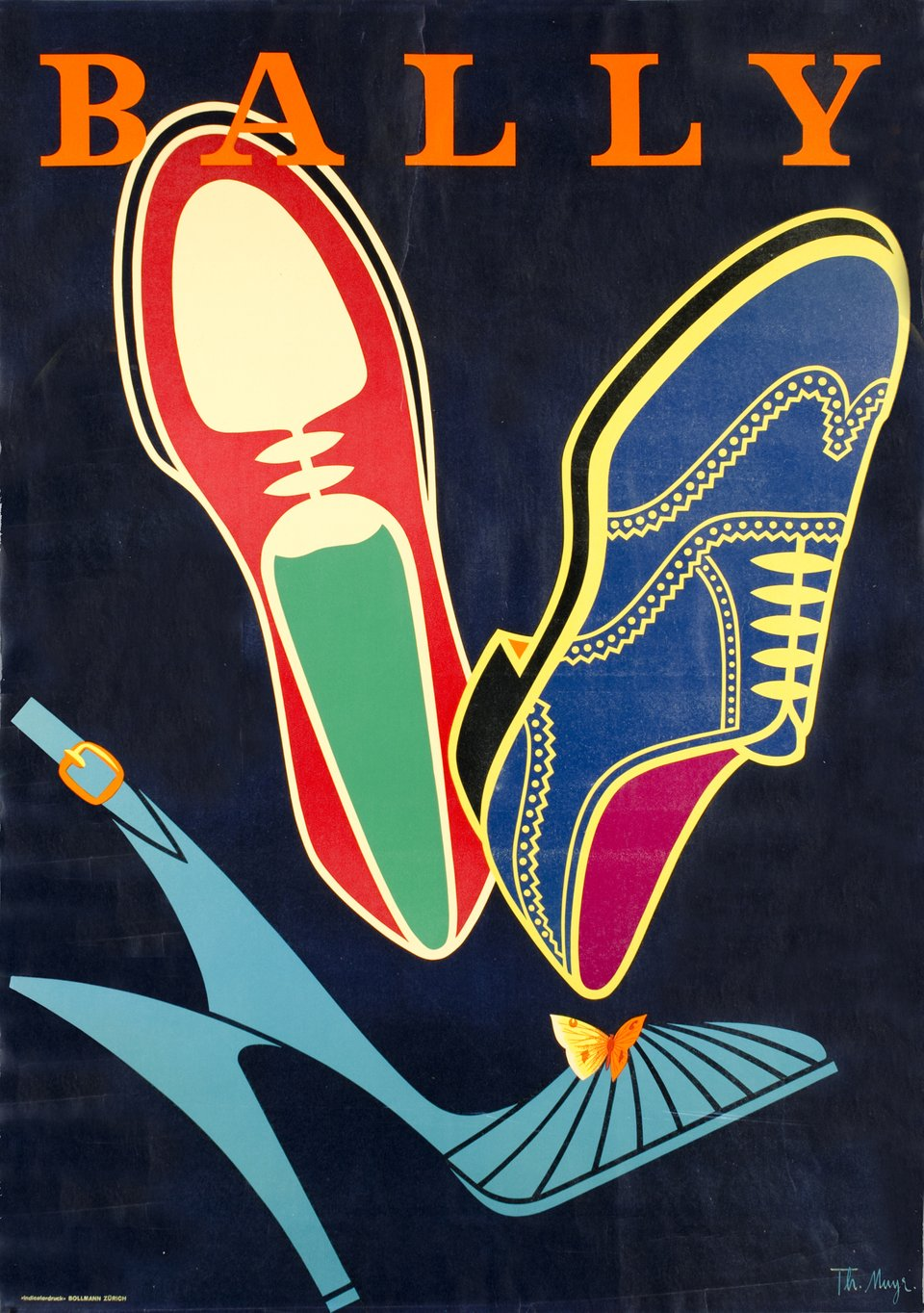Bally – Vintage poster – Theo MUYR – 1952