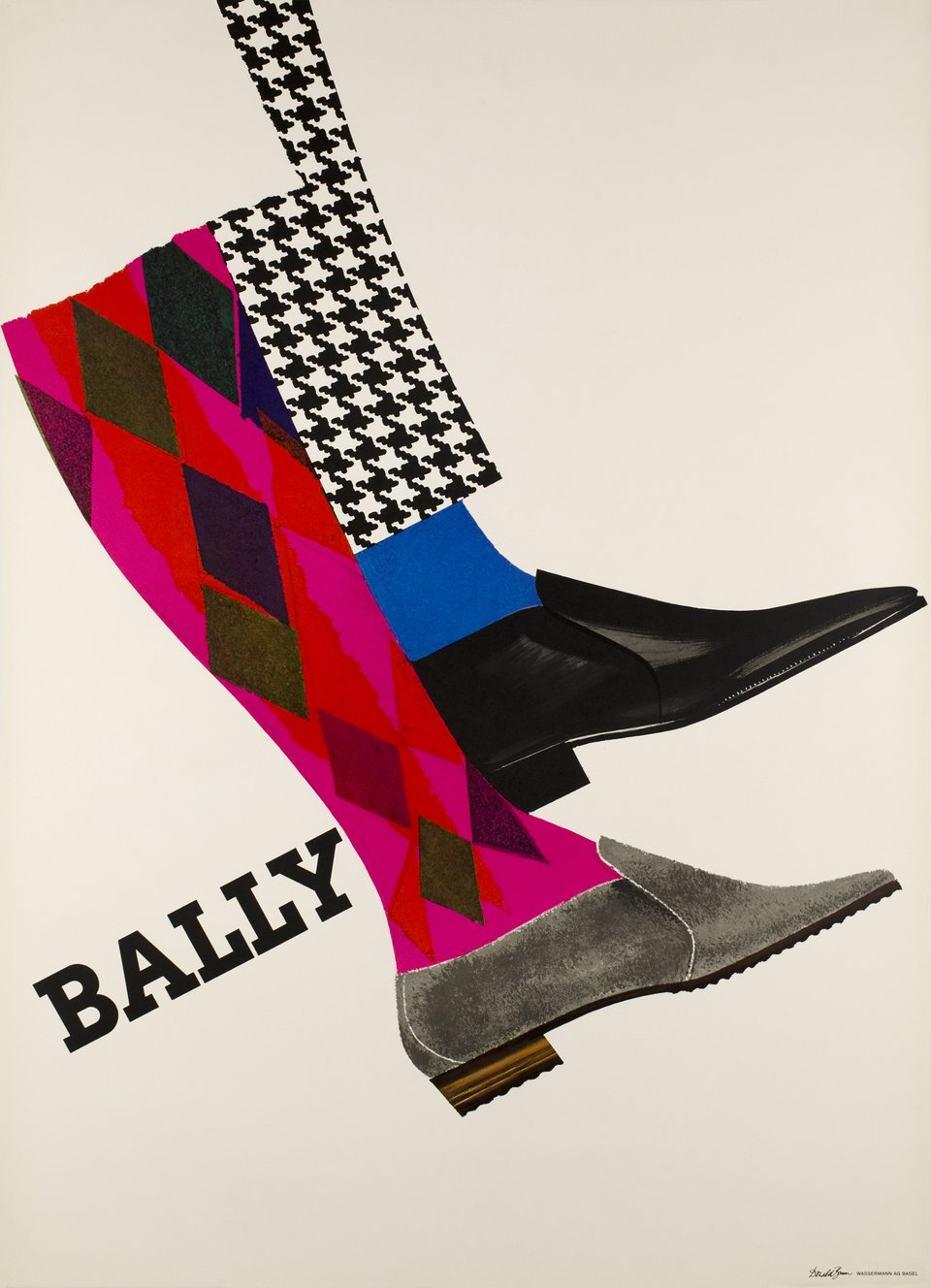 Bally – Vintage poster – Donald BRUN – 1965