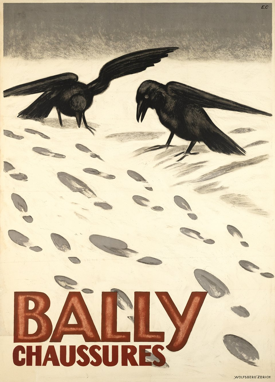 Bally, Chaussures – Vintage poster – Emil CARDINAUX – 1927