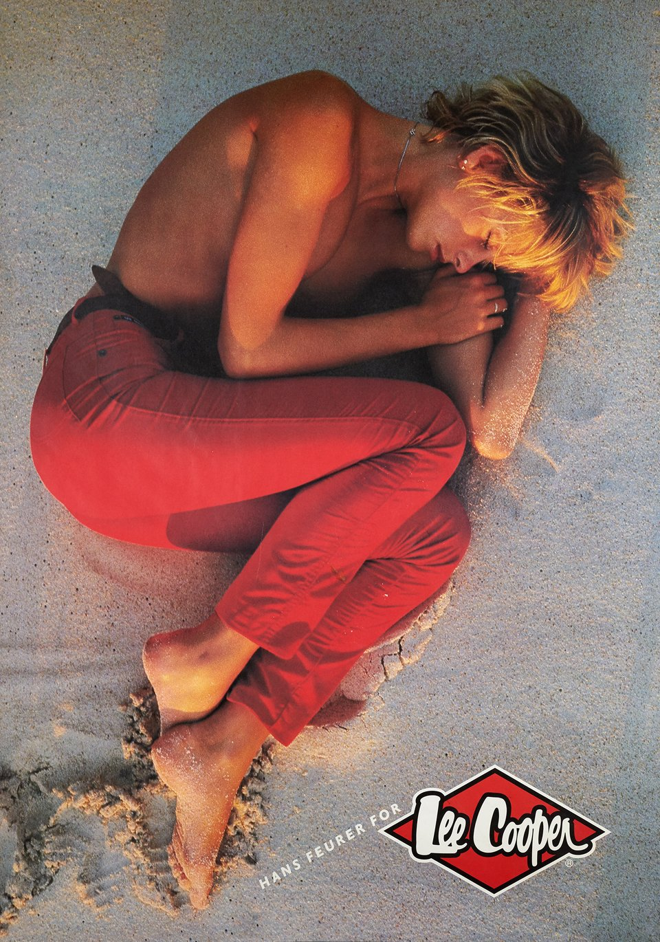 Hans Feuer for Lee Cooper – Affiche ancienne –  ANONYME – 1980