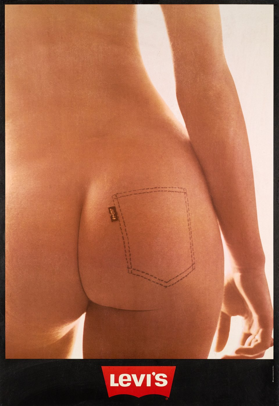 Levi's – Vintage poster – ANONYME – 1971