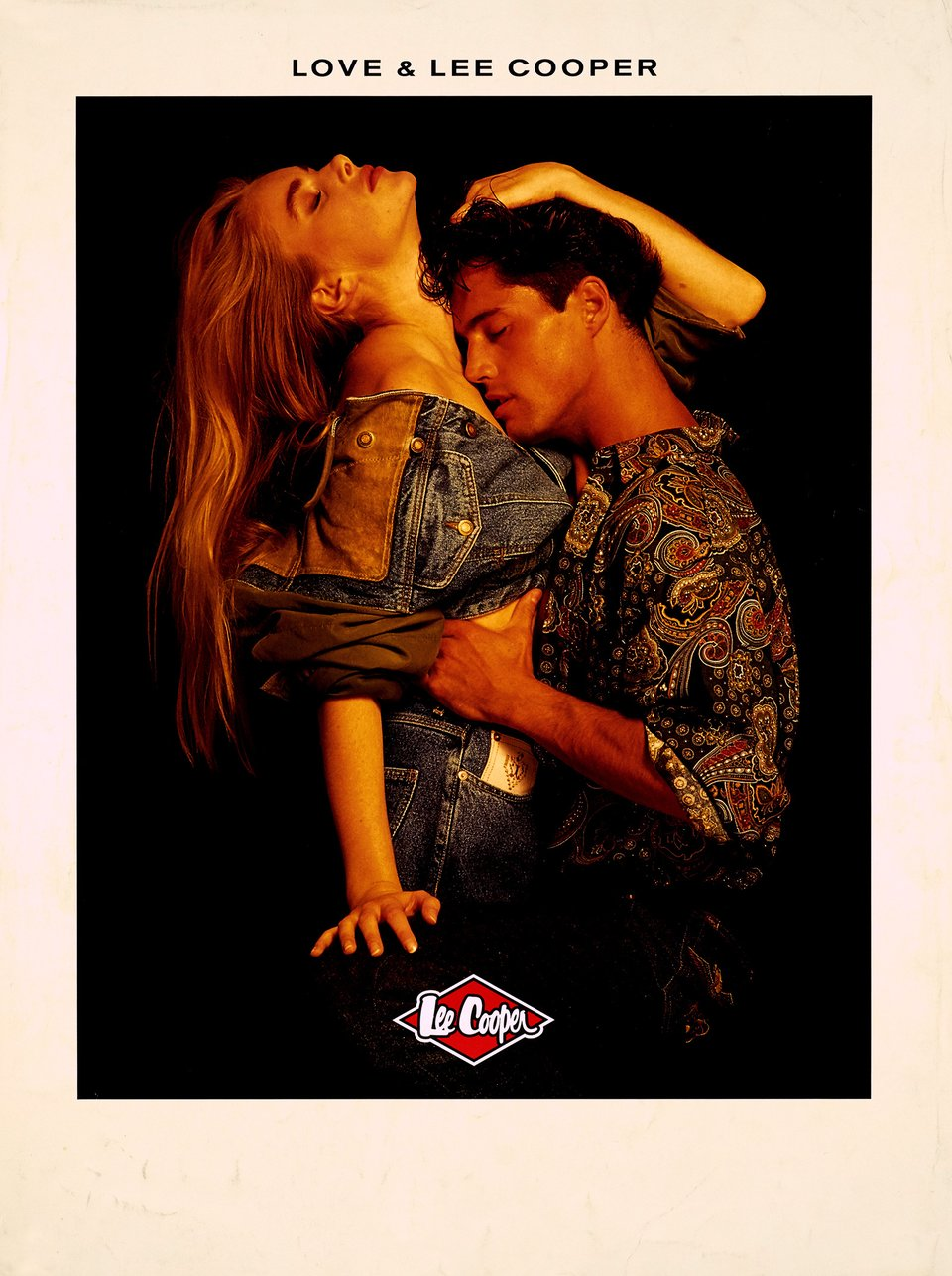 Love & Lee Cooper – Affiche ancienne –  ANONYME – 1980