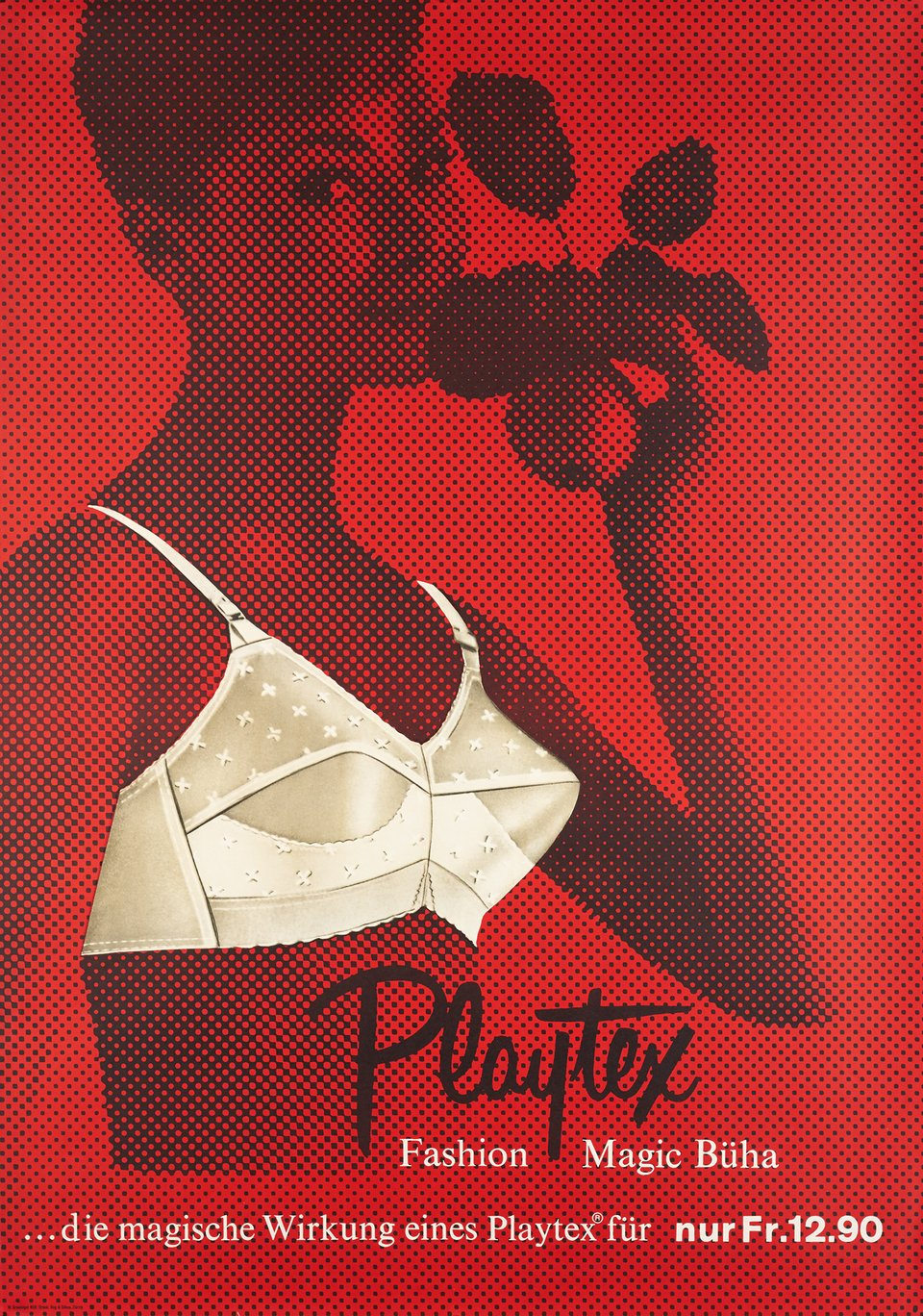 Playtex, Fashion Magic Büha – Vintage poster – Walter GREMINGER – 1958