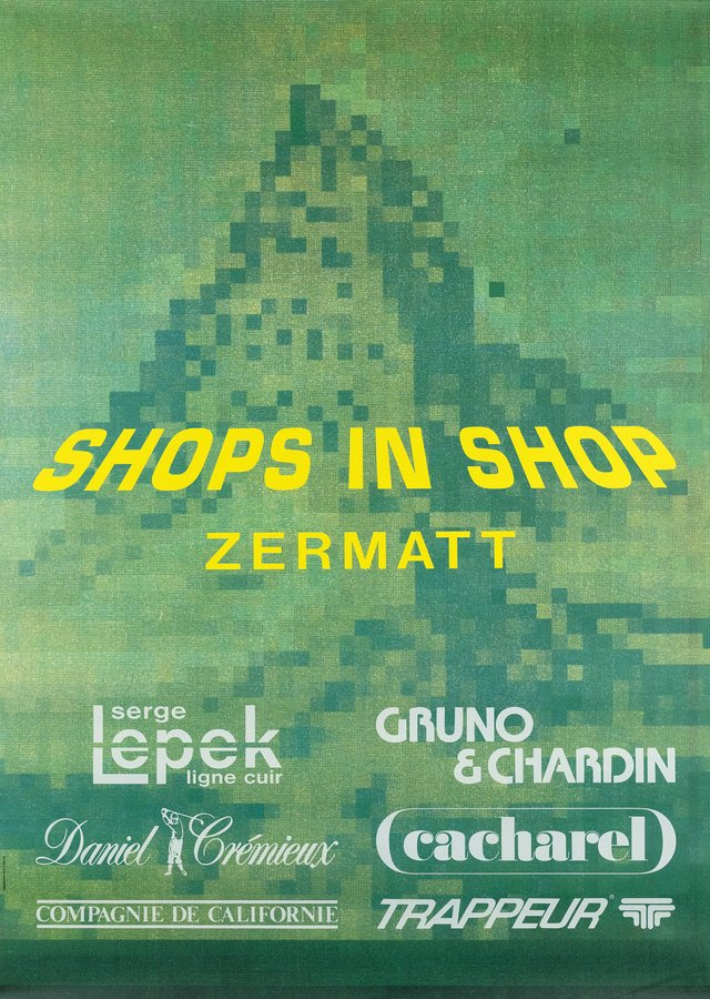 Shops in Shop Zermatt