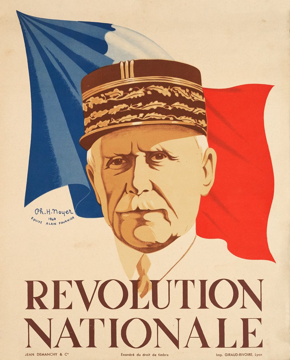 Révolution Nationale – Vintage poster – Ph. H NOYER – 1940